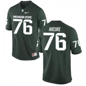 AJ Arcuri Spartans Alumni Mens Game Jersey - Green