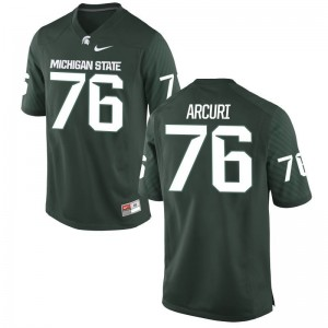 AJ Arcuri MSU University For Men Limited Jersey - Green