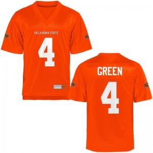 A.J. Green OK State College For Men Game Jerseys - Orange