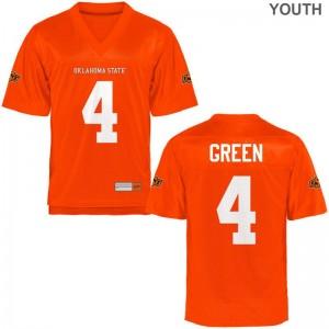 A.J. Green OK State Football Kids Limited Jerseys - Orange