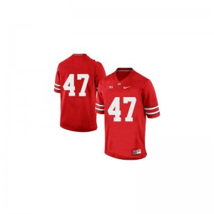 A.J. Hawk OSU Buckeyes Official Men Game Jerseys - Red