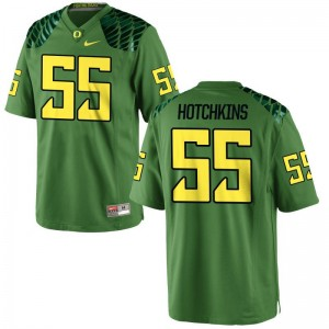 A.J. Hotchkins University of Oregon High School For Men Limited Jerseys - Apple Green