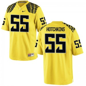 A.J. Hotchkins University of Oregon University Mens Limited Jersey - Gold