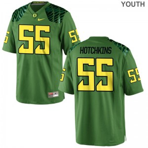 A.J. Hotchkins University of Oregon Football Youth Game Jersey - Apple Green