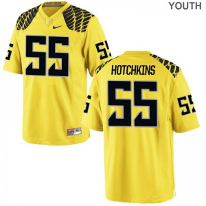 A.J. Hotchkins Oregon Official Youth Game Jerseys - Gold