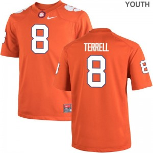 A.J. Terrell Clemson Football Youth(Kids) Limited Jersey - Orange