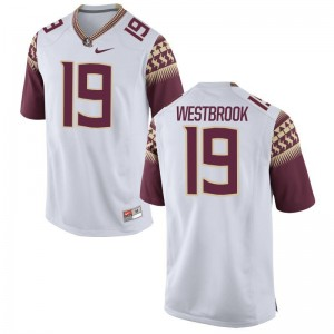 A.J. Westbrook Florida State Seminoles NCAA Mens Game Jersey - White