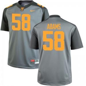 Aaron Adams Vols Football Kids Game Jerseys - Gray