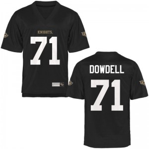 Aaron Dowdell UCF Official Mens Game Jersey - Black