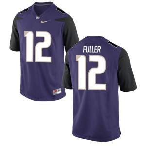 Aaron Fuller Washington Football Men Game Jersey - Purple