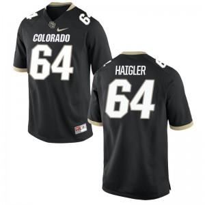 Aaron Haigler Buffaloes Alumni For Men Game Jerseys - Black