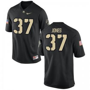 Aaron Jones Army Black Knights High School Mens Game Jersey - Black