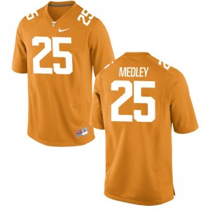 Aaron Medley Tennessee NCAA Mens Game Jerseys - Orange