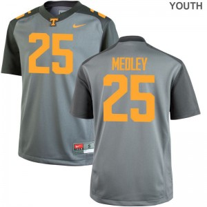 Aaron Medley UT Official Youth Game Jerseys - Gray