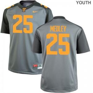 Aaron Medley UT Alumni Youth(Kids) Limited Jersey - Gray