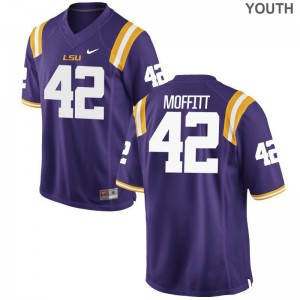 Aaron Moffitt Tigers Football Youth Limited Jersey - Purple