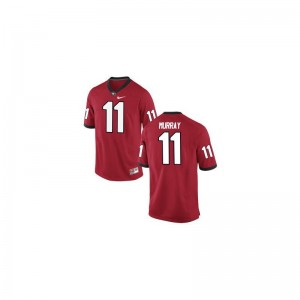 Aaron Murray UGA College Men Game Jerseys - Red