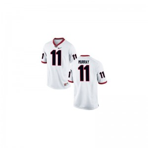 Aaron Murray UGA Bulldogs NCAA Mens Game Jerseys - White