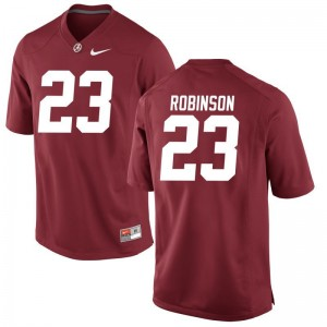 Aaron Robinson Alabama Crimson Tide NCAA Mens Game Jersey - Red