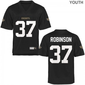 Aaron Robinson University of Central Florida Official Youth Game Jersey - Black