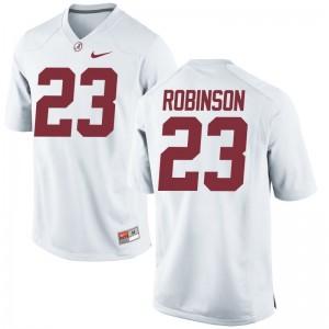 Aaron Robinson Alabama NCAA Youth(Kids) Game Jerseys - White