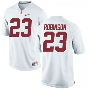 Aaron Robinson Bama Football Kids Limited Jersey - White