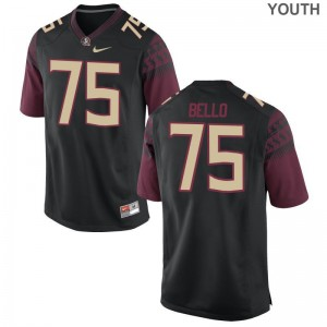 Abdul Bello Florida State Seminoles Player Youth(Kids) Game Jerseys - Black