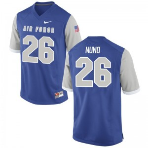 Abraham Nuno USAFA Football For Men Game Jersey - Royal