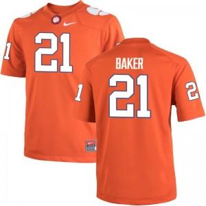 Adrian Baker Clemson Tigers University Kids Game Jerseys - Orange