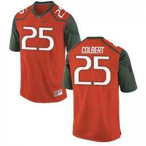 Adrian Colbert Miami Official Mens Game Jersey - Orange