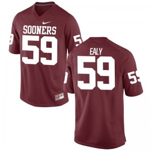 Adrian Ealy OU Sooners Official For Men Limited Jerseys - Crimson