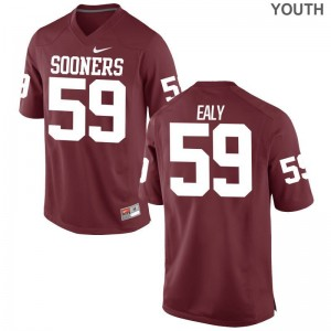 Adrian Ealy Oklahoma Alumni Kids Game Jerseys - Crimson