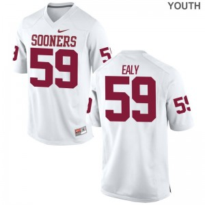 Adrian Ealy OU Sooners Player Kids Limited Jerseys - White