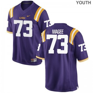Adrian Magee Tigers NCAA Youth(Kids) Limited Jersey - Purple