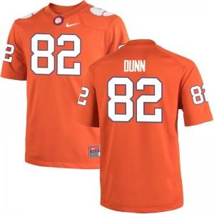Adrien Dunn Clemson University Official Kids Game Jersey - Orange
