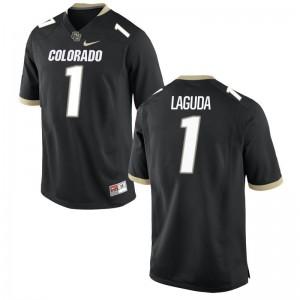 Afolabi Laguda UC Colorado High School Mens Limited Jersey - Black