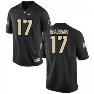 Ahmad Bradshaw Army University For Men Game Jersey - Black