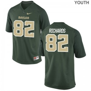 Ahmmon Richards Miami Hurricanes Official Youth Game Jerseys - Green
