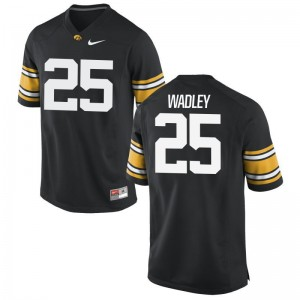 Akrum Wadley Hawkeyes Football Mens Limited Jerseys - Black