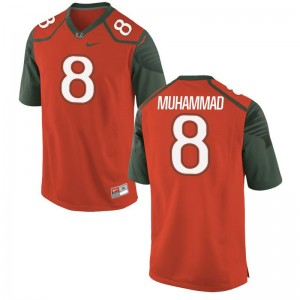 Al-Quadin Muhammad Miami Hurricanes NCAA Mens Game Jersey - Orange