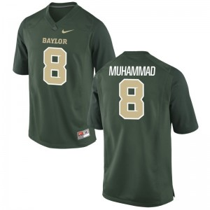 Al-Quadin Muhammad Hurricanes High School Mens Limited Jersey - Green