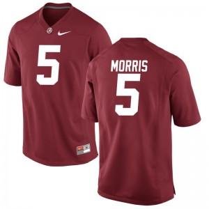 Alec Morris Alabama NCAA Men Limited Jersey - Red