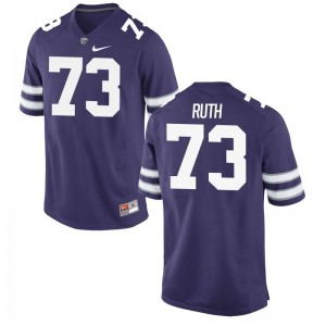 Alec Ruth KSU Player For Men Game Jersey - Purple