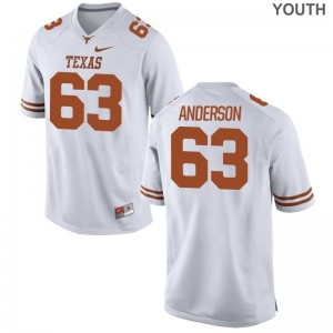 Alex Anderson UT Official Kids Game Jerseys - White