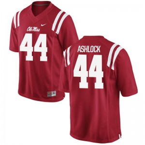 Alex Ashlock University of Mississippi University For Men Game Jerseys - Red