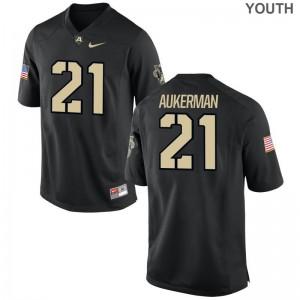Alex Aukerman USMA High School Youth Limited Jersey - Black