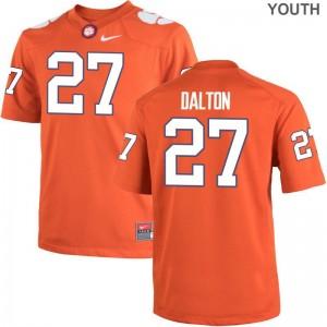 Alex Dalton CFP Champs College Youth(Kids) Limited Jerseys - Orange