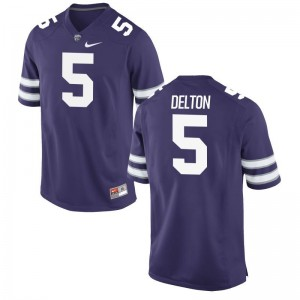 Alex Delton Kansas State Official Mens Game Jerseys - Purple