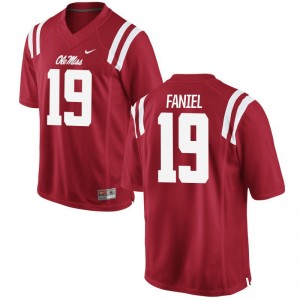 Alex Faniel Ole Miss High School For Men Game Jerseys - Red