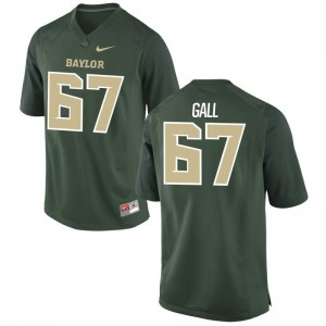 Alex Gall Miami Hurricanes Official For Men Game Jerseys - Green